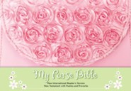 NIrV My Purse Bible--soft leather-look, pink