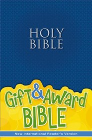 NIrV Gift & Award Bible, Blue