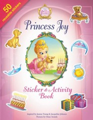 Princess Joy, Sticker Activity Book