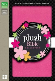 NIrV Plush Bible, Thinline, Pink Sparkle