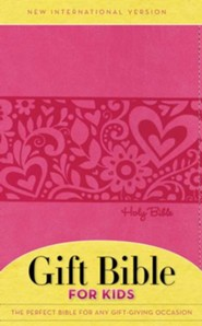 NIV Gift Bible for Kids, Pink