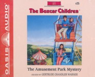 The Amusement Park Mystery - unabridged audiobook on CD