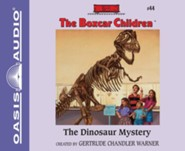 #44: The Dinosaur Mystery - unabridged audiobook on CD