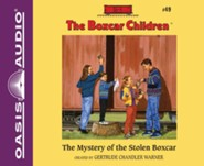 The Mystery of the Stolen Boxcar- unabridged audiobook on CD
