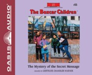 The Mystery of the Secret Message - unabridged audiobook on CD Unabridged