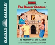 The Mystery at the Alamo - unabridged audiobook on CD