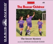The Soccer Mystery - unabridged audiobook on CD