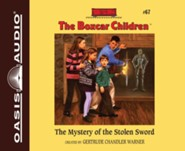 The Mystery of the Stolen Sword - unabridged audio book on CD
