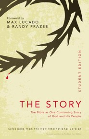 NIV, The Story of God: Student Edition, Paperback