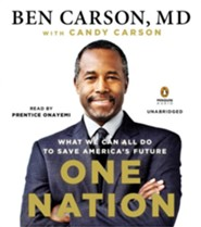 One Nation: What We Can All Do To Save America Audiobook on CD
