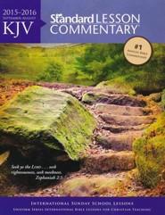 KJV Standard Lesson Commentary 2015-2016