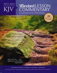 KJV Standard Lesson Commentary 2015-16, hardcover