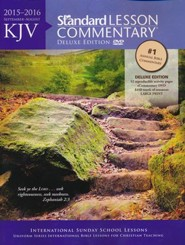 KJV Standard Lesson Commentary 2015-16, Deluxe Edition with eCommentary