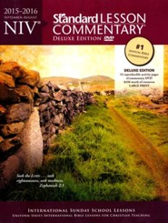 NIV Standard Lesson Commentary 2015-16, Deluxe Edition with eCommentary