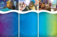 Bible Blast to the Past VBS 2015: Bible Timeline Wall Mural (three 3' X 6' panels)