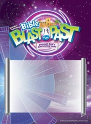 Bible Blast to the Past VBS 2015: Publicity Posters, set of 4