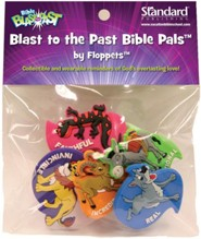Bible Blast to the Past VBS 2015: Floppets Blast to the Past Bible Pals, set of 5
