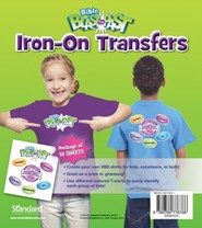 Bible Blast to the Past VBS 2015: Iron-On Transfers, package of 10