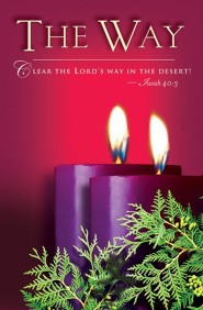 Advent Purple Sunday 2 The Way Bulletin 2014, Regular (Package of 50)