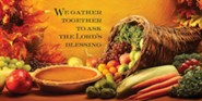 We Gather Together Thanksgiving Offering Envelope 2014 (Package of 50)