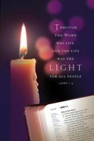 Christmas Candlelighting/Light Bulletin 2014, Regular (Package of 50)