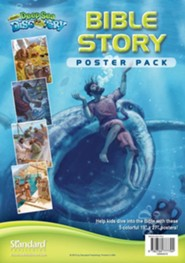 Deep Sea Discovery VBS: Bible Story Poster Pack, set of 5