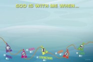 Deep Sea Discovery VBS: God Is with Me Wall Banner, 65 inches x 44 inches