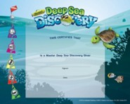 Deep Sea Discovery VBS: Recognition Certificates, pack of 10