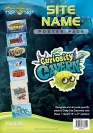 Deep Sea Discovery VBS: Site Name Poster Pack, set of 7