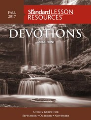 Devotions Large Print Edition-Fall 20166
