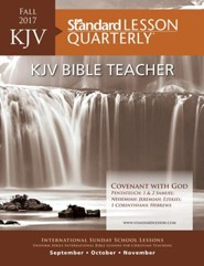 KJV Bible Teacher-Fall 2016