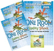 One Room Sunday School Kit Summer 2015: Grow Your Faith by Leaps and Bounds
