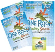 One Room Sunday School Kit Spring 2015: Grow Your Faith by Leaps and Bounds
