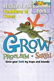 Grow, Proclaim, Serve! Toddlers & Twos Poster Pak Summer 2015: Grow Your Faith by Leaps and Bounds