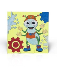2014 VBS Workshop of Wonders: Imagine a Build with God - Rivet Puzzle Preschool Craft (package of 6)