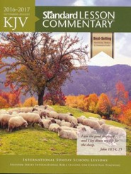 KJV Standard Lesson Commentary 2016-2017, softcover