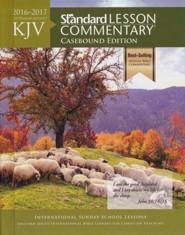 KJV Standard Lesson Commentary 2016-2017, hardcover