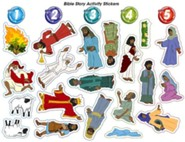 VBS 2015 G-Force: God's Love in Action - Bible Story Activity Stickers