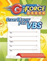 VBS 2015 G-Force: God's Love in Action - Small Promotional Poster
