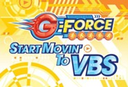 VBS 2015 G-Force: God's Love in Action - Invitation Postcards, Pack of 25