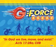 VBS 2015 G-Force: God's Love in Action - Large Logo Poster