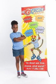 VBS 2015 G-Force VBS: God's Love in Action - Theme Banner
