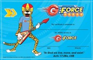 VBS 2015 G-Force: God's Love in Action - Leader Recognition Certificates, Pack of 10