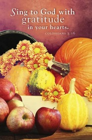 Sing to God Thanksgiving Bulletin 2015 (Package of 50)