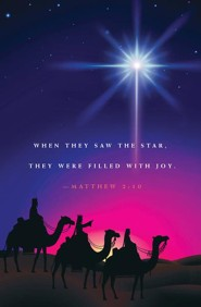 When They Saw A Star Epiphany Bulletin 2015 (Package of 50)