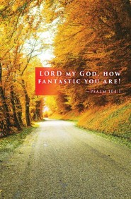 Lord My God Fall Bulletin 2015 (Package of 50)