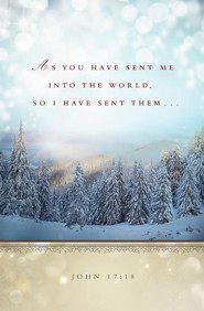 God Spreads Snow Winter Bulletin 2015 (Package of 50)