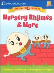 Nursery Rhymes & More Workbook, Pre K-K