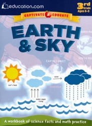 The Earth and the Sky Workbook, 3rd Grade