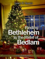 Finding Bethlehem in the Midst of Bedlam - Large Print edition